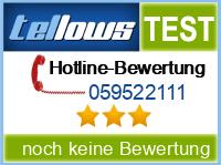 tellows Bewertung 059522111