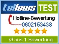 tellows Bewertung 0602153438