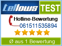 tellows Bewertung 061511535894