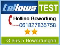 tellows Bewertung 061827835758