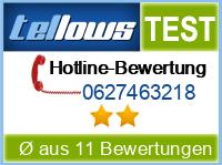 tellows Bewertung 0627463218