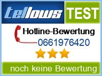 tellows Bewertung 0661976420