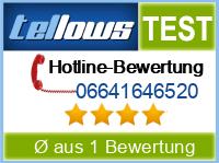 tellows Bewertung 06641646520