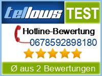 tellows Bewertung 0678592898180