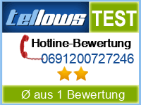 tellows Bewertung 0691200727246