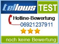 tellows Bewertung 06921237911