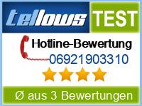 tellows Bewertung 06921903310