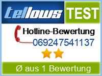 tellows Bewertung 069247541137