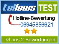 tellows Bewertung 06945856621