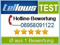 tellows Bewertung 06958091122