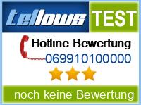 tellows Bewertung 069910100000