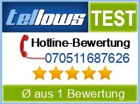 tellows Bewertung 070511687626