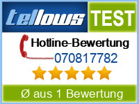 tellows Bewertung 070817782