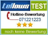 tellows Bewertung 071221223