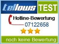 tellows Bewertung 07122658
