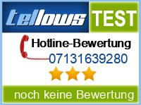 tellows Bewertung 07131639280