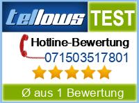 tellows Bewertung 071503517801