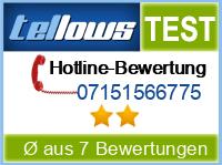 tellows Bewertung 07151566775