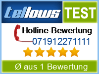 tellows Bewertung 071912271111
