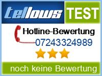 tellows Bewertung 07243324989