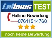 tellows Bewertung 07611514760