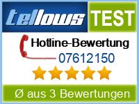 tellows Bewertung 07612150