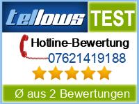 tellows Bewertung 07621419188