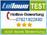 tellows Bewertung 07821922880