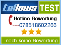 tellows Bewertung 078518602266