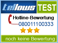 tellows Bewertung 080011100333