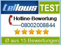 tellows Bewertung 08002008844