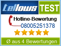 tellows Bewertung 08005251378
