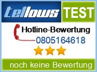 tellows Bewertung 0805164618