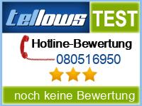tellows Bewertung 080516950
