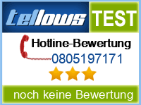 tellows Bewertung 0805197171