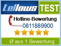 tellows Bewertung 0811889900