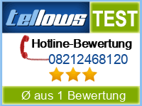 tellows Bewertung 08212468120