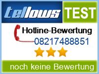 tellows Bewertung 08217488851
