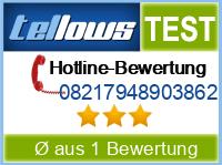 tellows Bewertung 08217948903862