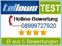 tellows Bewertung 08999727920