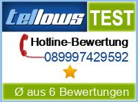 tellows Bewertung 089997429592