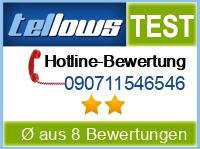 tellows Bewertung 090711546546