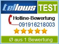 tellows Bewertung 091916218003
