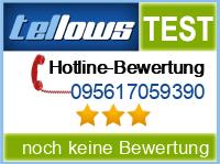 tellows Bewertung 095617059390