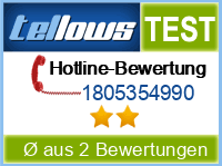 tellows Bewertung 1805354990