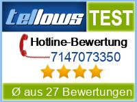 tellows Bewertung 7147073350